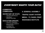 everybody wants your data15