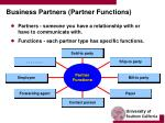 business partners partner functions