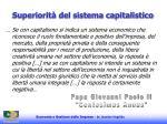 superiorit del sistema capitalistico