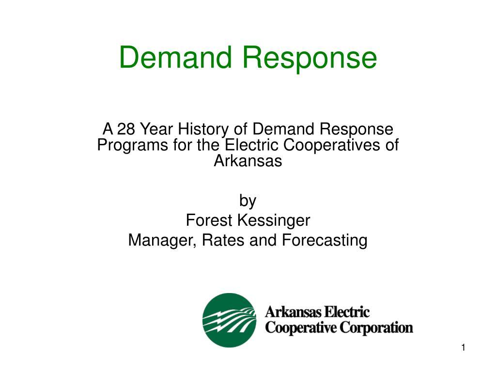 demand response l.