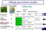 allergi prevention studier