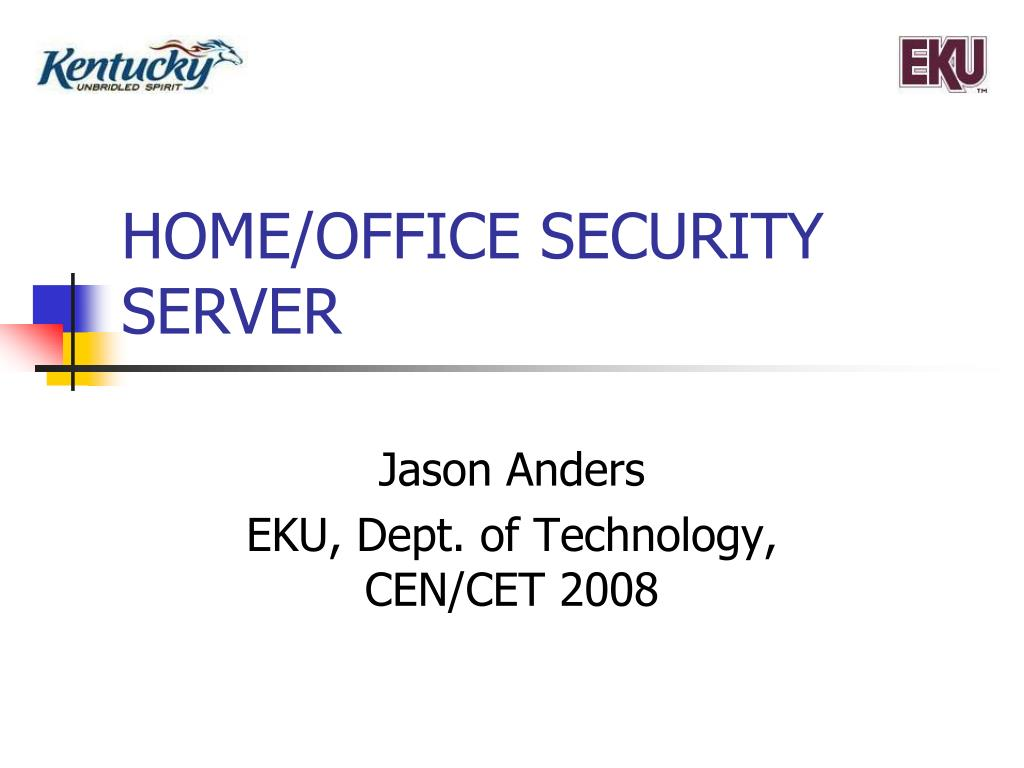 home office security server l.