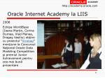 oracle internet academy la liis8