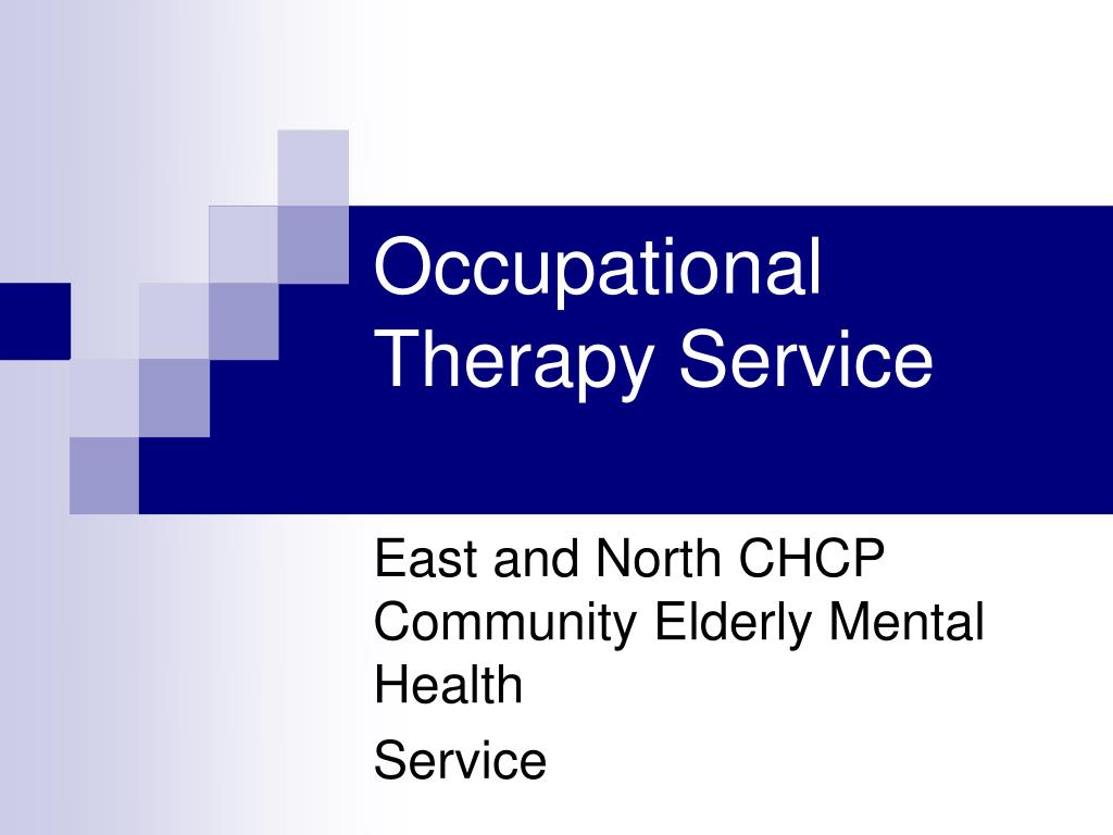 the role of occupational therapists in mental health care This page has information on the role of an occupational therapist with mental health service occupational health and care professions.
