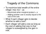 tragedy of the commons33