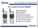 f r mobilen einsatz more