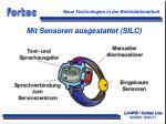 mit sensoren ausgestattet silc
