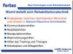 womit befa t sich rehabilitationstechnik