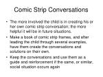 comic strip conversations