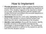 how to implement64