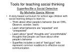 tools for teaching social thinking38