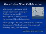 great lakes wind collaborative