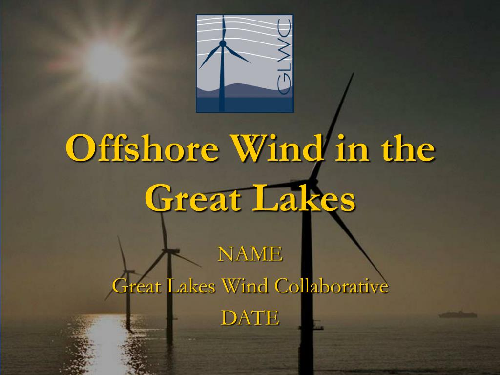 offshore wind in the great lakes l.
