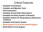 critical features101