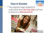 keys to success29