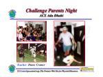 challenge parents night acs adu dhabi