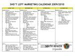 sho t left marketing calendar 2009 201030