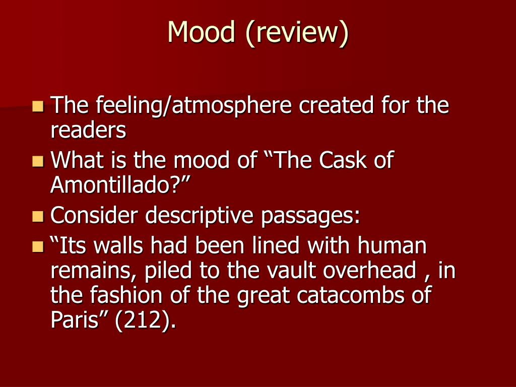 Mood (review)