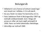 bolungarv k16