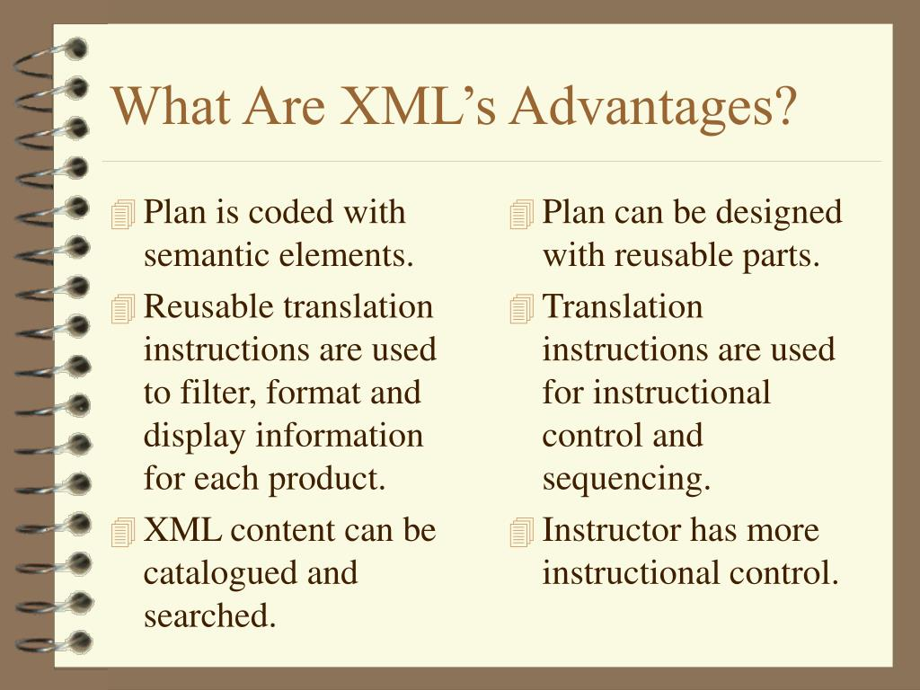 Plan is coded with semantic elements.