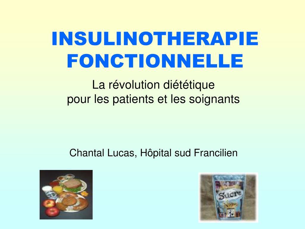 insulinotherapie fonctionnelle l.