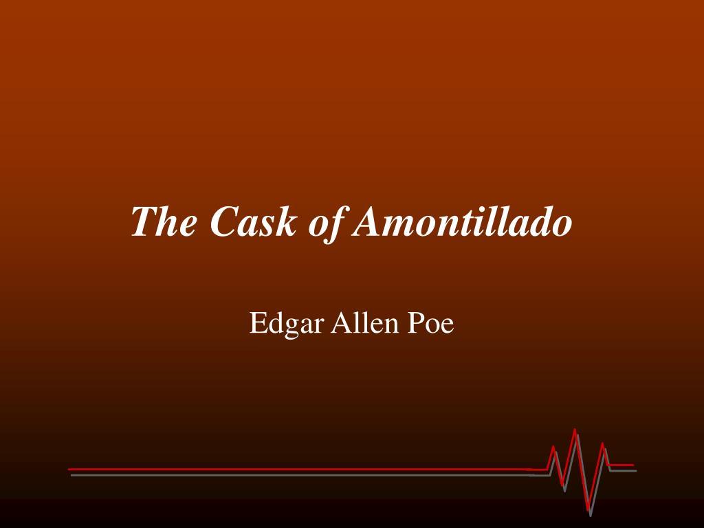 the cask of amontillado l.