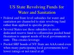 us state revolving funds for water and sanitation