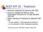 ncep atp iii treatment