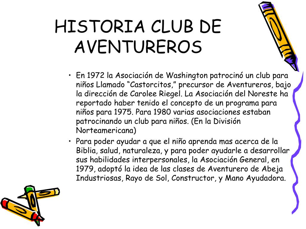 historia club de aventureros l.