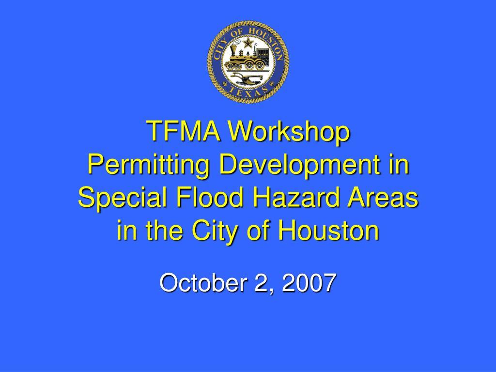TFMA Workshop