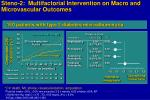 steno 2 multifactorial intervention on macro and microvascular outcomes