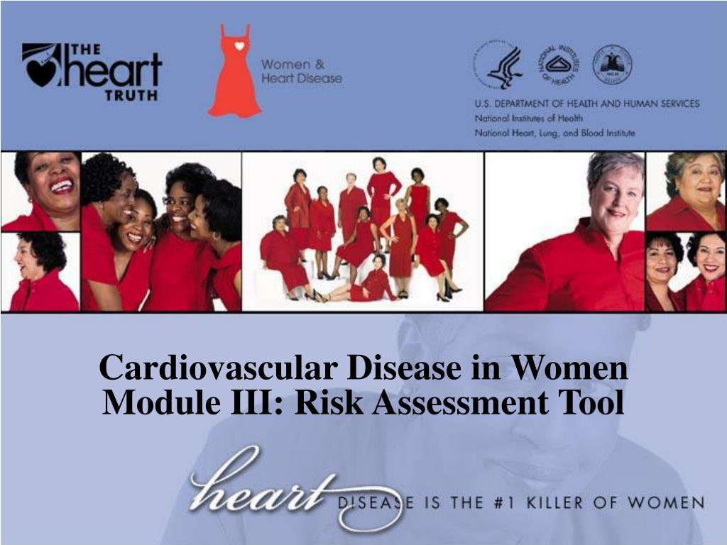 cardiovascular disease in women module iii risk assessment tool l.