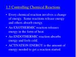 1 3 controlling chemical reactions