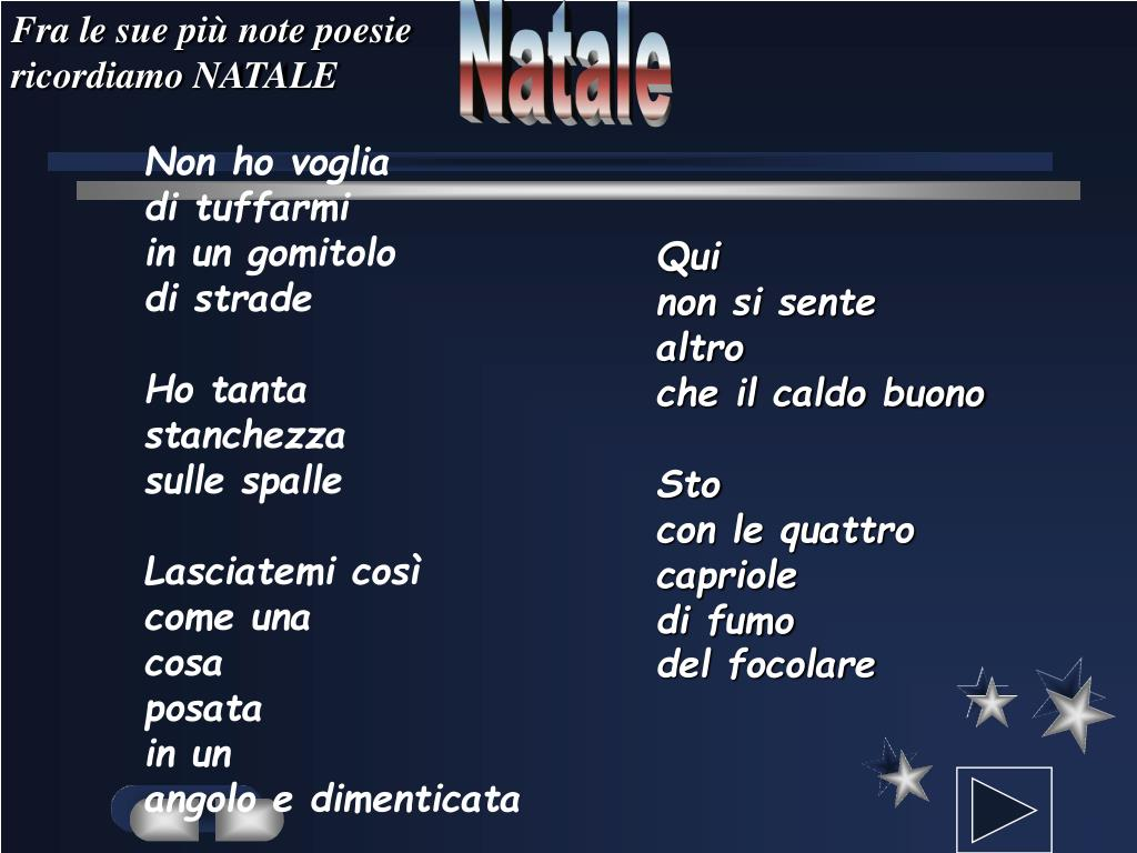 Poesia Di Natale Ungaretti.Ppt Giuseppe Ungaretti Powerpoint Presentation Free Download Id 348435
