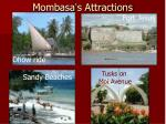 mombasa s attractions