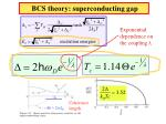 bcs theory superconducting gap