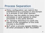 process separation