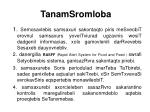 tanamsromloba