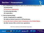 section 1 assessment9