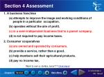 section 4 assessment39
