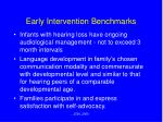 early intervention benchmarks5