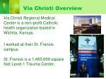 via christi overview