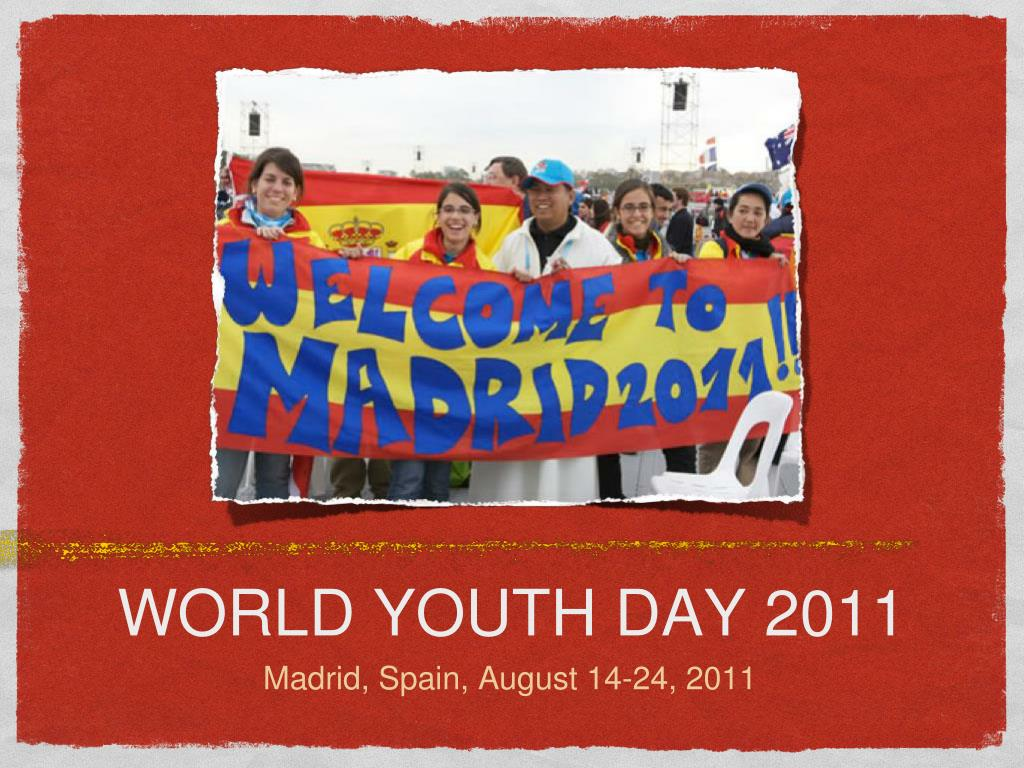 world youth day 2011 l.