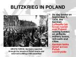 blitzkrieg in poland