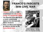 franco s fascists win civil war