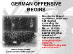 german offensive begins