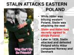 stalin attacks eastern poland
