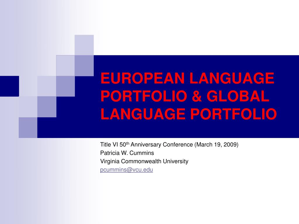 european language portfolio global language portfolio l.
