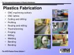 plastics fabrication