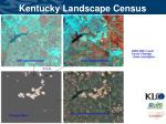 kentucky landscape census